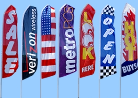 advertising pennants banners