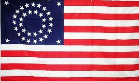 historical american flags for sale