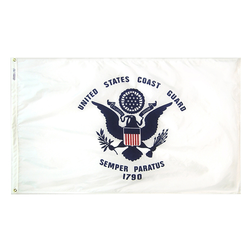 U.S. Coast Guard USCG Officially Licensed Outdoor Nylon Flag