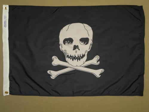 Jolly Roger Pirate Flag Annin Nautical Flags