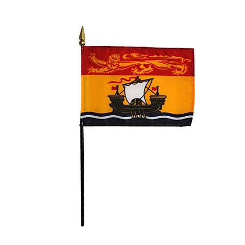 Annin New Brunswick Province Desk Flag