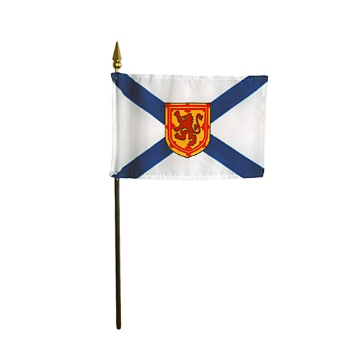 Annin Nova Scotia Province Desk Flag