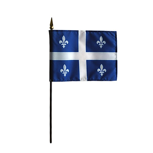 Annin Quebec Province Desk Flag