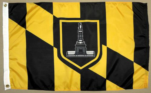 Baltimore Maryland MD Flag
