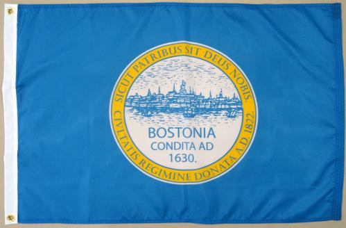 Boston Massachusetts MA Flag