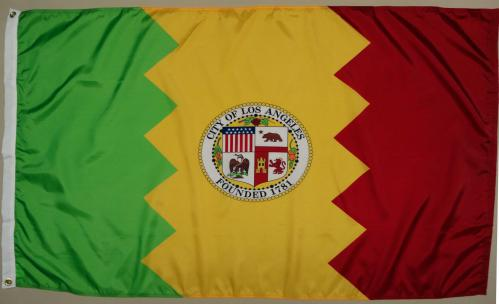 Los Angeles California CA Flag