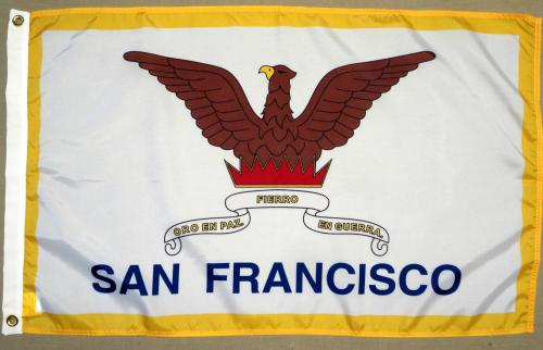 San Francisco California CA Flag