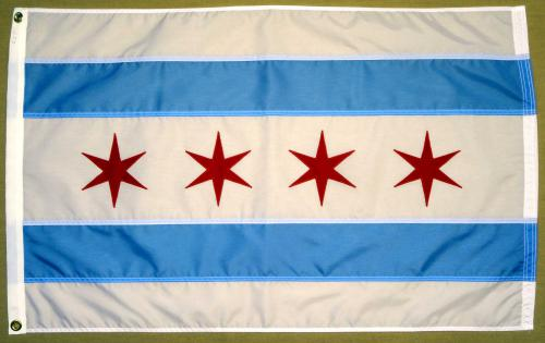 City of Chicago Outdoor Nylon Flag