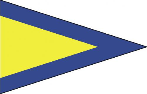 First Repeat Code of Signals Boat Flags