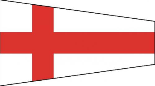 Number Eight Code of Signals Boat Flags