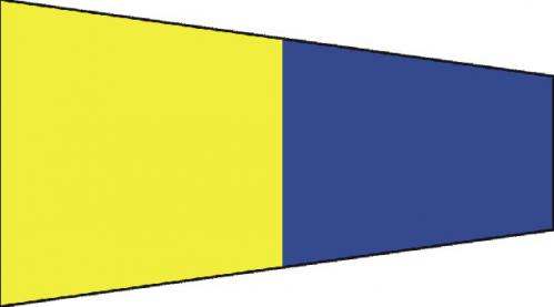 Number Five Code of Signals Boat Flags