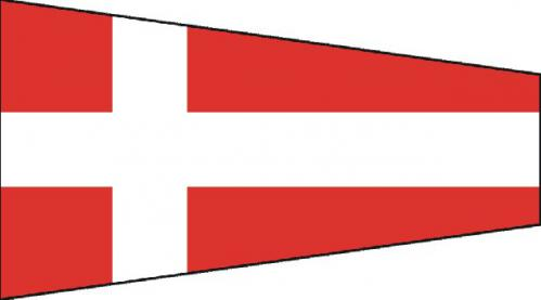 Number Four Code of Signals Boat Flags