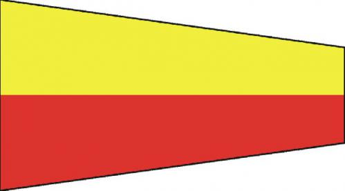 Number Seven Code of Signals Boat Flags