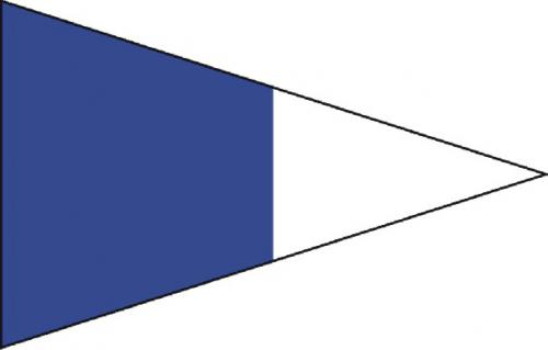 Second Repeater Code of Signals Boat Flags