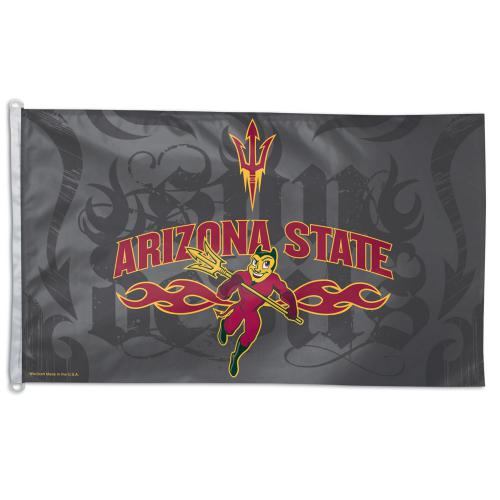 Arizona State Univ NCAA Polyester Flag, 3 X 5