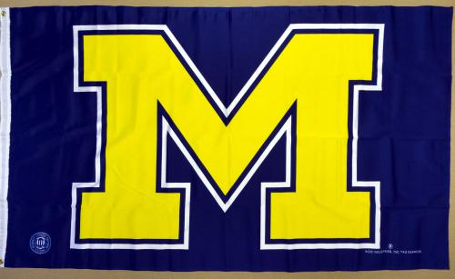Michigan University Flag Rico