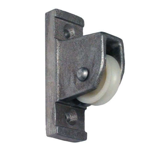Eder Silver Vertical Mount Pulley Flagpole Parts