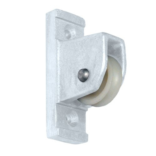 Eder White Vertical Mount Pulley Flagpole Parts
