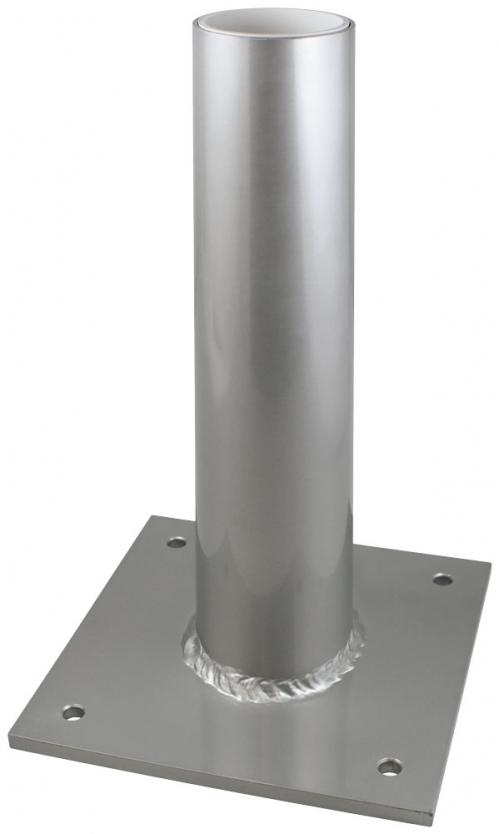 Vertical Aluminum Deck Flag Pole Holder