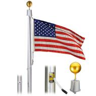 Deluxe IH Series Internal Alum Flagpole, 20 All Finishes
