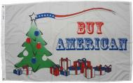Buy American Holiday Dyed Nylon Flag, 3 X 5