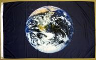 EARTH FLAG NYLON FLAG, 3 X 5