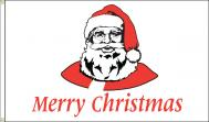 Merry Christmas Santa Nylon Flag, 3 X 5
