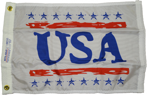 USA Nylon Flag, 12 X 18