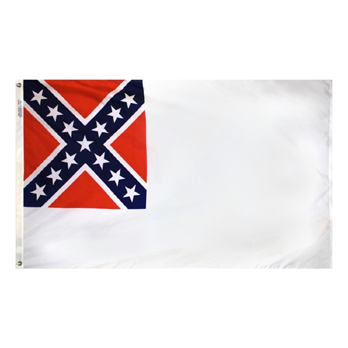 2nd Confederate Stainless Civil War Flags