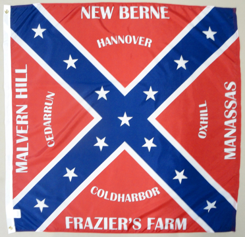 37th North Carolina Infantry Regiment Civil War Flags