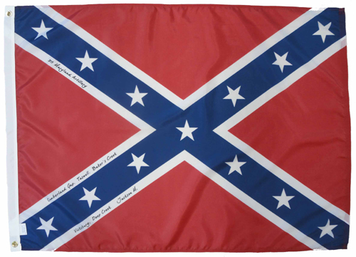 3rd Maryland Light Artillery Civil War Flags