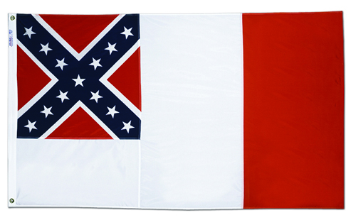 3rd Confederate Bloodstained Civil War Flags
