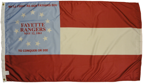 Fayette Rangers Company F 13th Georgia Infantry Regiment Civil War Flags