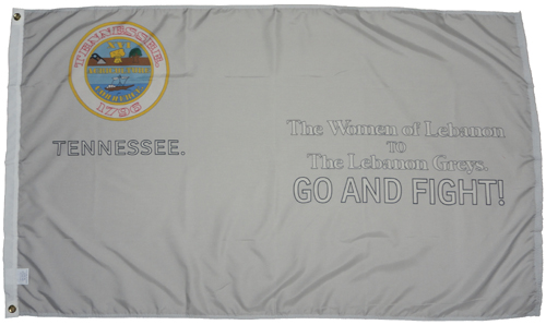 Lebanon Greys Tennessee TN 1864 Civil War Flags