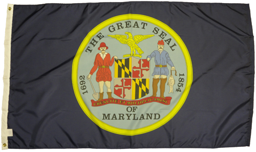 Maryland MD State 1861 Civil War Flags