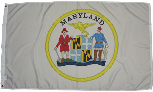Maryland Virginia Company B 21st Infantry Troops Regiment 1861 Civil War Flags