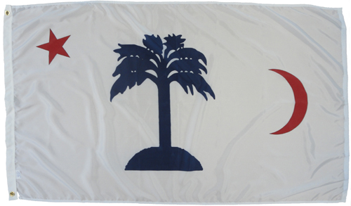 South Carolina SC Blockade Runner Civil War Flags