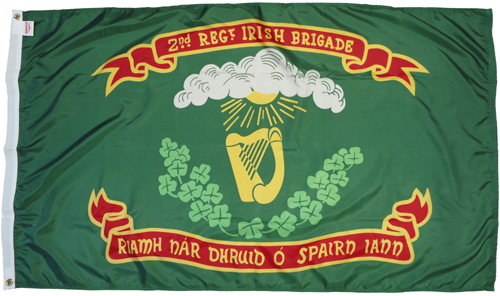 2nd New York Irish Brigade Civil War Flags