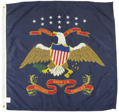 2nd US Cavalry Civil War Flags