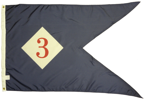 3rd Corps Headquarters 1864 Civil War Flags