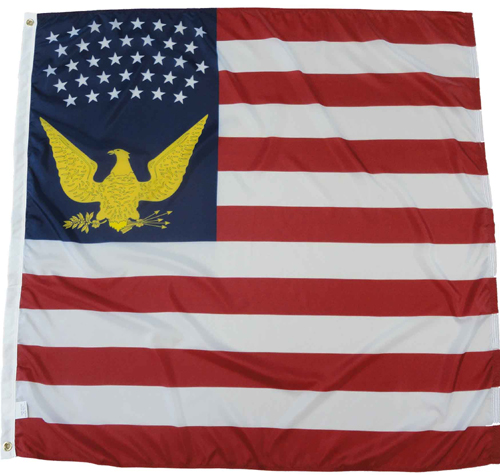 4th Corps Headquarters Department of Cumberland Civil War Flags