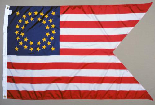 Cavalry Guidon 35 Star Civil War Flags