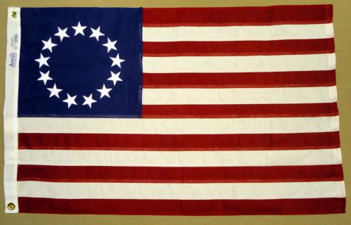 Betsy Ross Cotton Annin Historical American Flags
