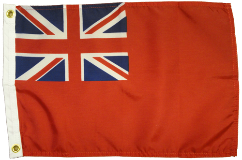 British Red Ensign Duster Nautical Flags Historical American Flags