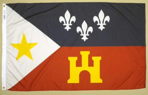 Louisiana Acadians Annin Historical American Flags