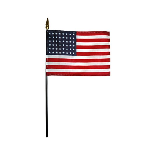 U.S. United States 48 Star Desk Flag