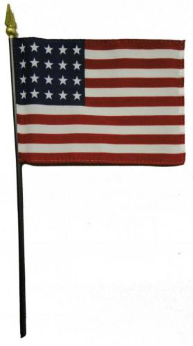 U.S. 20 Star Desk Flag