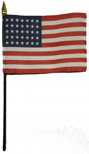 U.S. United States 35 Star Desk Flag