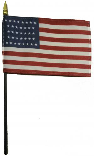 U.S. United States 37 Star Desk Flag