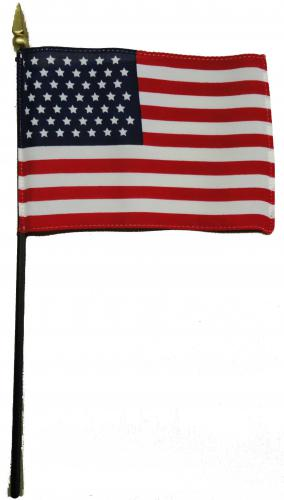 U.S. United States 49 Star Desk Flag
